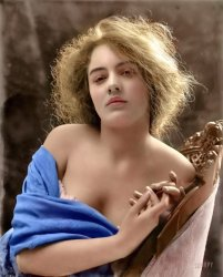 Thisbe (Colorized): 1900