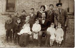 Clark Family Post Card 1914
