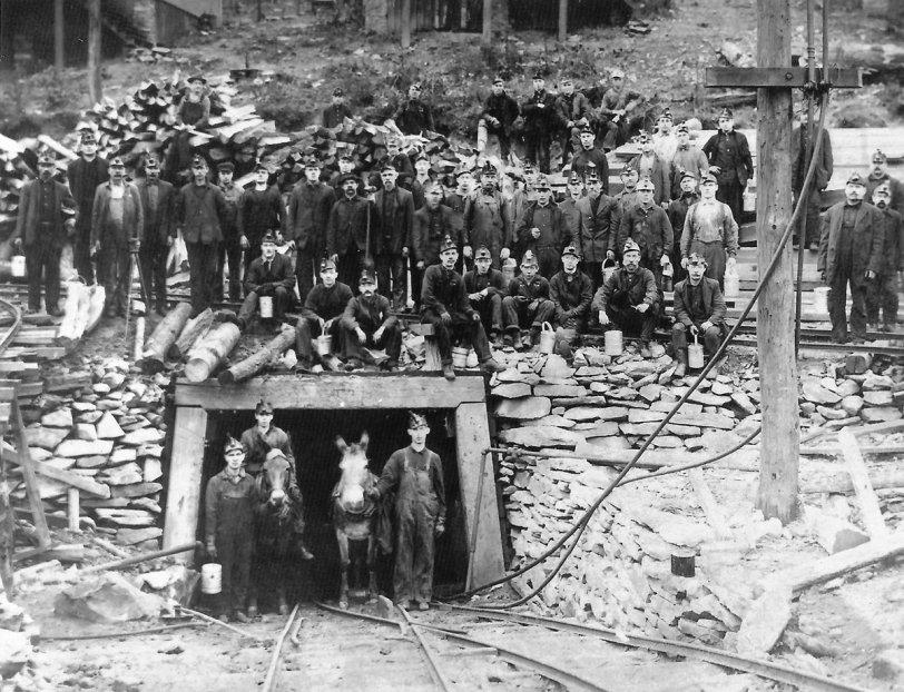 Coal Miners: 1910