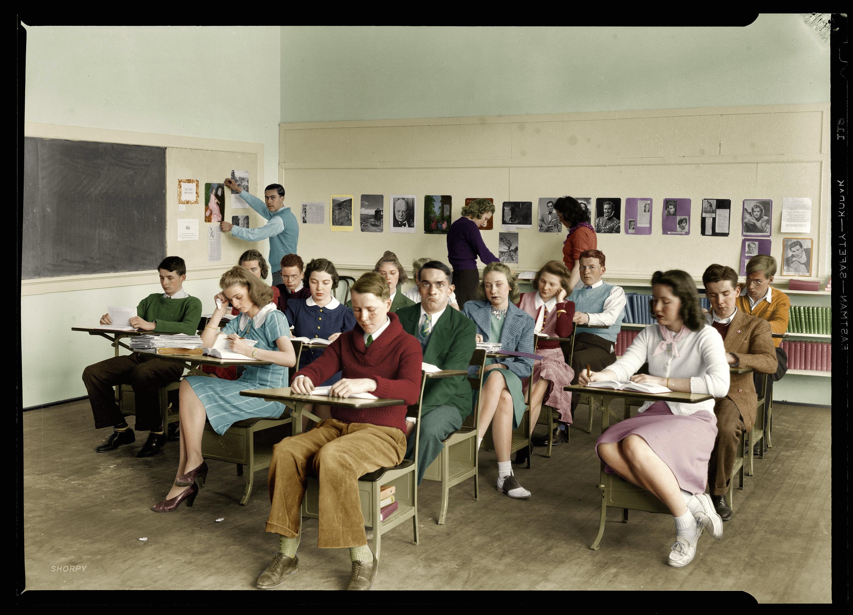 shorpy historic picture archive class portrait