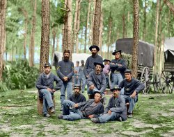 Company B (Colorized): 1864