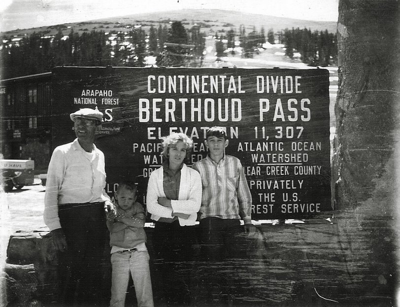 Continental Divide: 1963