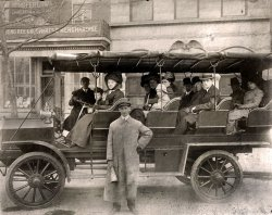 Touring Washington, D.C.: c. 1911