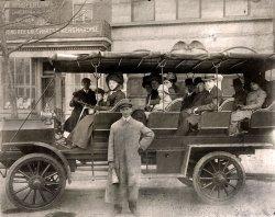 Touring Washington, D.C.: c. 1911