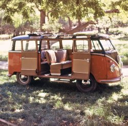VW Microbus: 1962