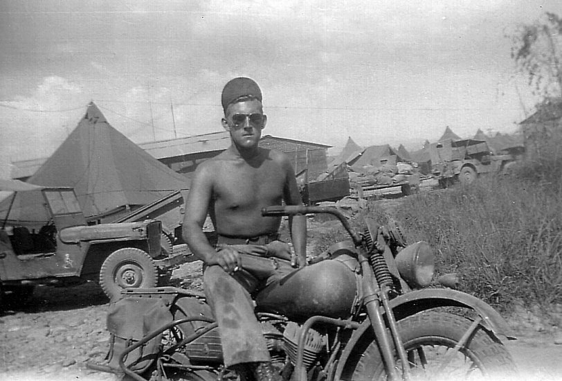 Dad in the Philippines: 1945