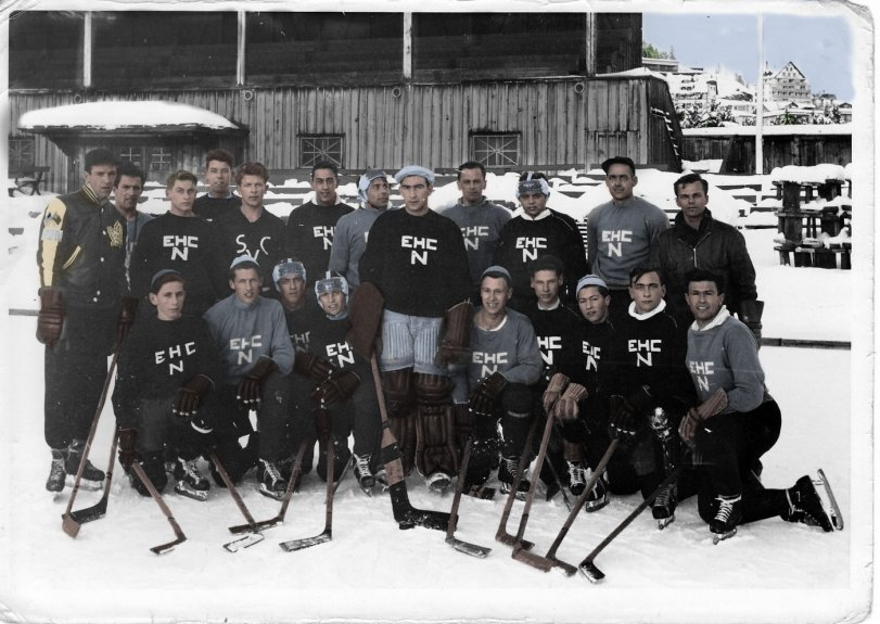 Ice Hockey in Switzerland: 1952