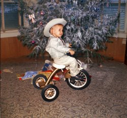Cowboy Tricycle: 1963