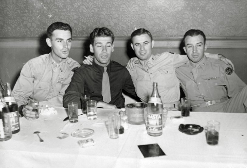 Dad on the Town: 1945