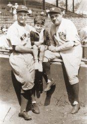 Gehrig, Jawish and Ruth: c.1930