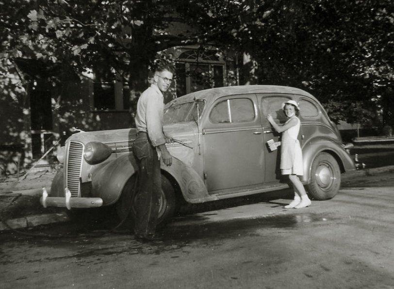 Dad's Dodge: c. 1939