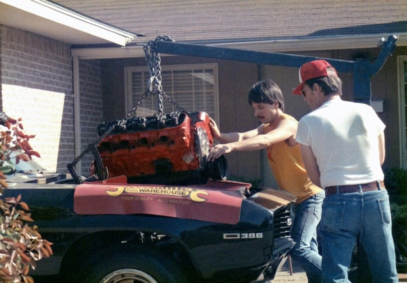 Installing an Engine with Dad