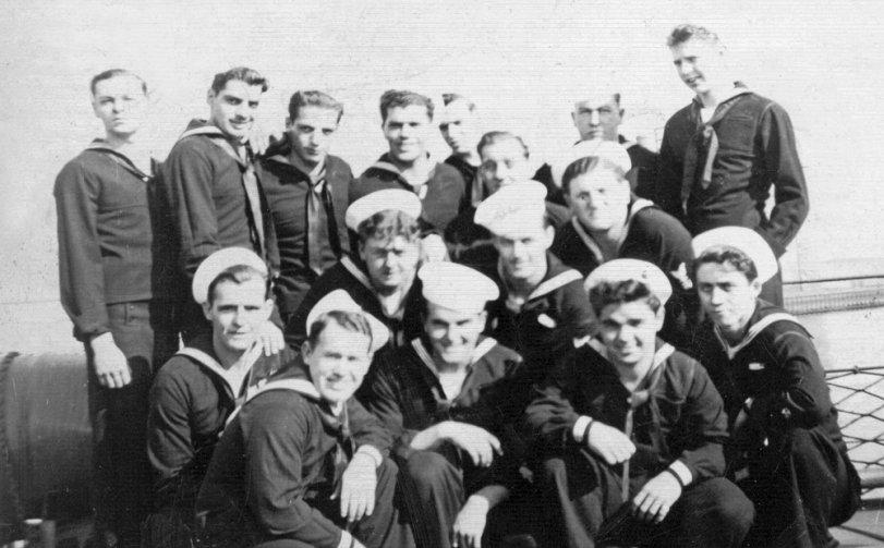 USS MACLEISH (DD-220 / AG-87)  Shipmates: 1945
