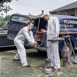 Delfeld & Son (Colorized): 1954