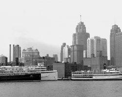 Detroit Skyline No. 2: 1952