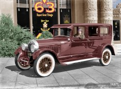 Don Lee Cadillac (Colorized): 1925