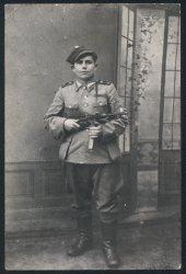 My grandfather  Edward Ogrodnik: 1945