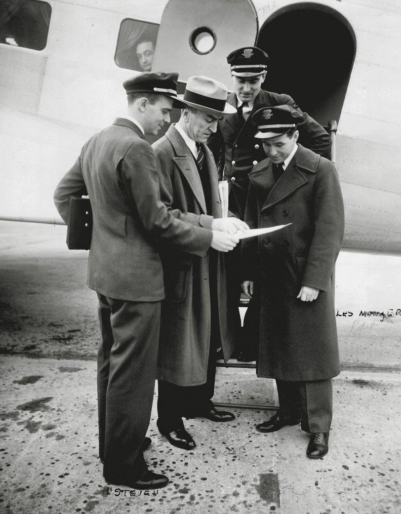 Erickson and Rickenbacker: 1934