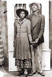Kattie and Edd: 1940