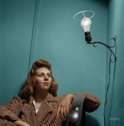 Electric Angel (Colorized): 1943