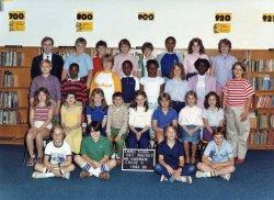 Fifth Grade: 1982