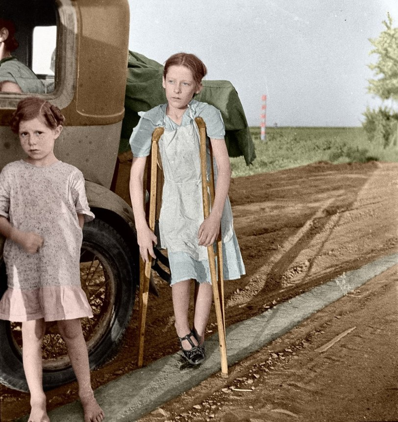 End of the Road (Colorized): 1935