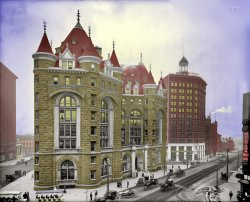 Erie County Savings Bank (Colorized)