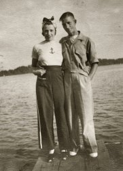 Esther & Gene: July 1940
