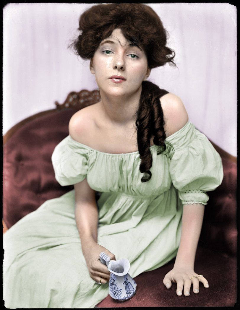 Evelyn Nesbit (Colorized)