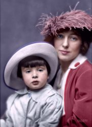 Evelyn and Russell (Colorized): 1913