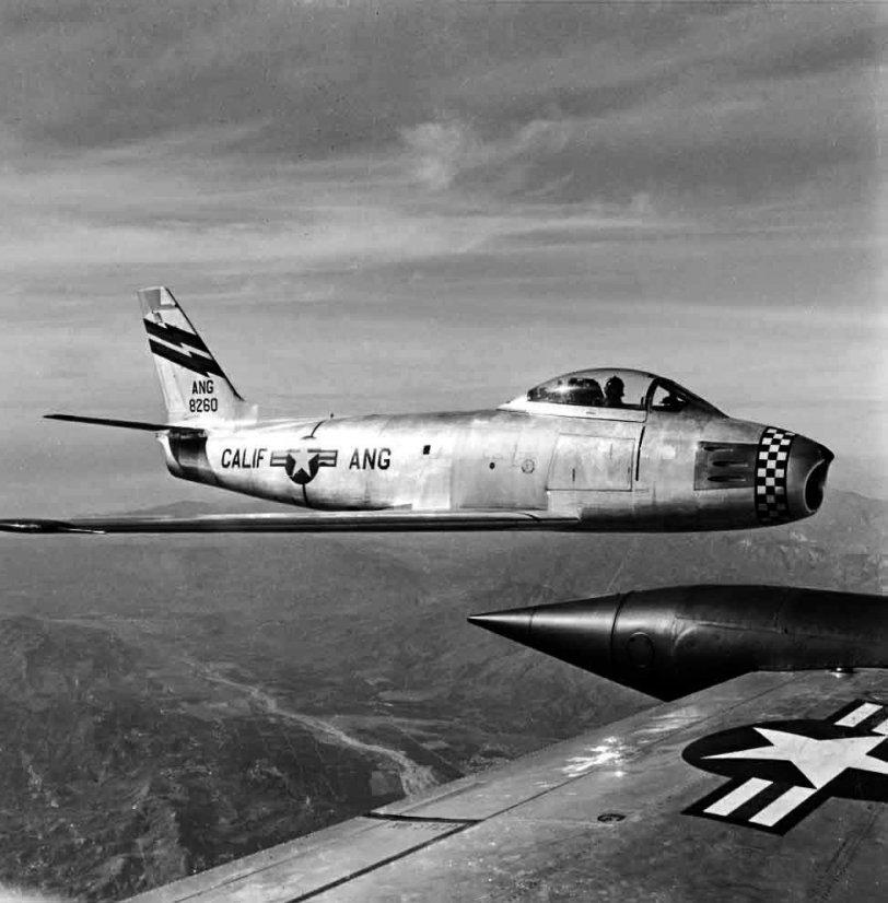 F-86A California:  1954