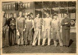 Factory Workers on Break