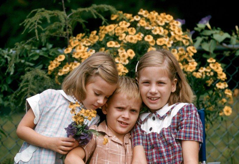 Sibling Sandwich: 1955