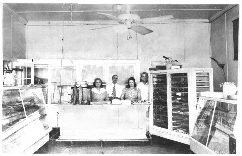 Biloxi Bakery, Retail Shop, 1942