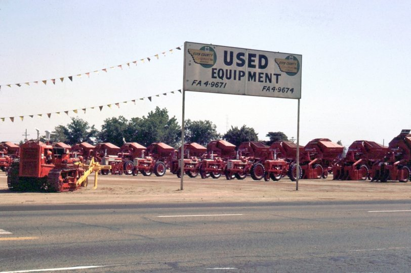 Farm Equipment: 1966