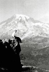 Carl Bangs, Jr. at Mt. Rainier