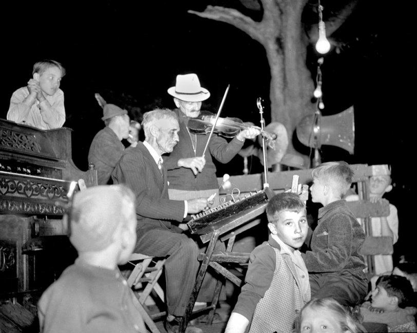 Saturday Night on the Square, c. 1948