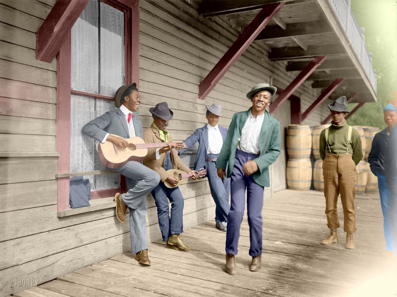 Florida Dance (Colorized): 1902