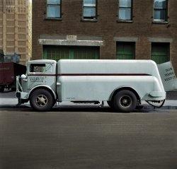 Flushing New York (Colorized): 1943