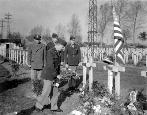 Grave of American who served in French Foreign Legion