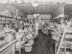 Frank Sharp's Store: 1936