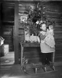 Frontier Christmas: c. 1900