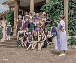 Future Flappers (Colorized): 1923