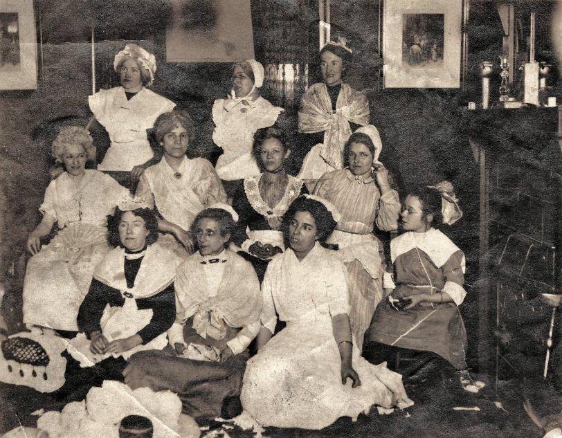 Women in Costume circa 1900