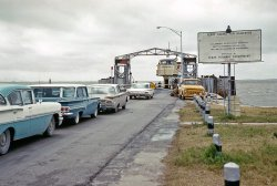 Galveston Ferry: 1960