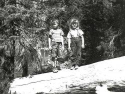 In Yosemite: 1946