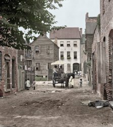 Gaslight Alley (Colorized): 1920