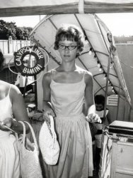 On the Boat to Bimini: c.1964