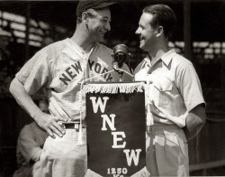 Gehrig and Grandfather - Mid 1930's