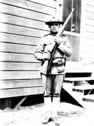 George Merrill Woods, WWI Marine
